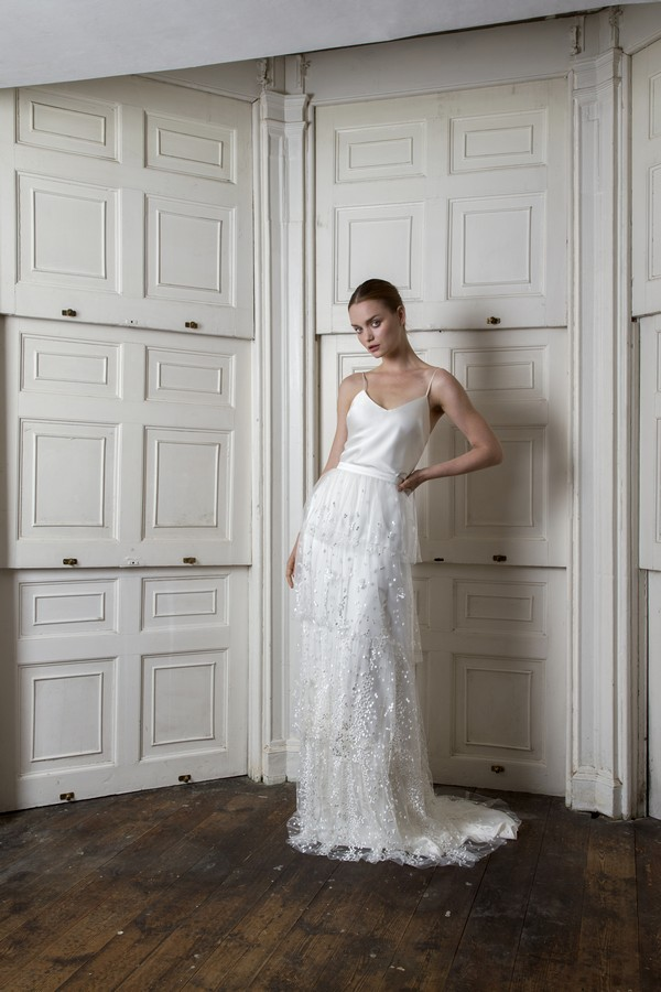 Iris Cami with Camden Skirt from the Halfpenny London The Air That We Breathe 2019 Bridal Collection