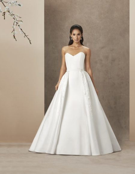 Kate Wedding Dress with Beatrice Train from the Caroline Castigliano The Power of Love 2019 Bridal Collection