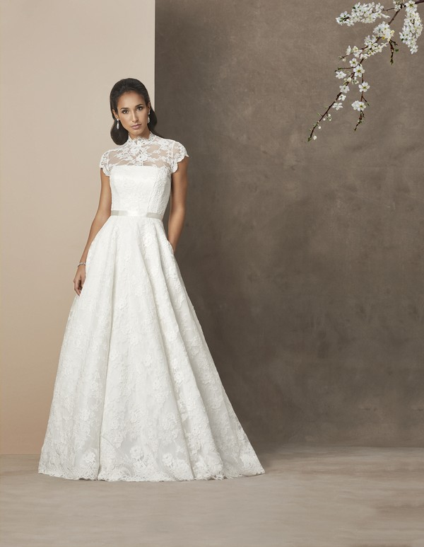 Madeira Wedding Dress from the Caroline Castigliano The Power of Love 2019 Bridal Collection