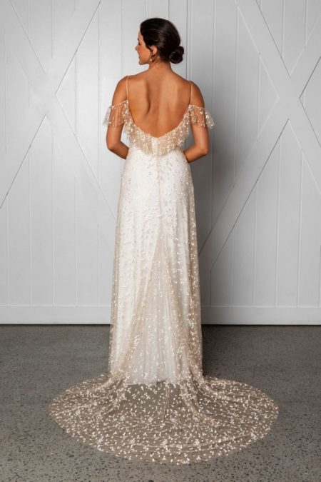Back of Marloe Wedding Dress from the Grace Loves Lace Icon 2018 Bridal Collection