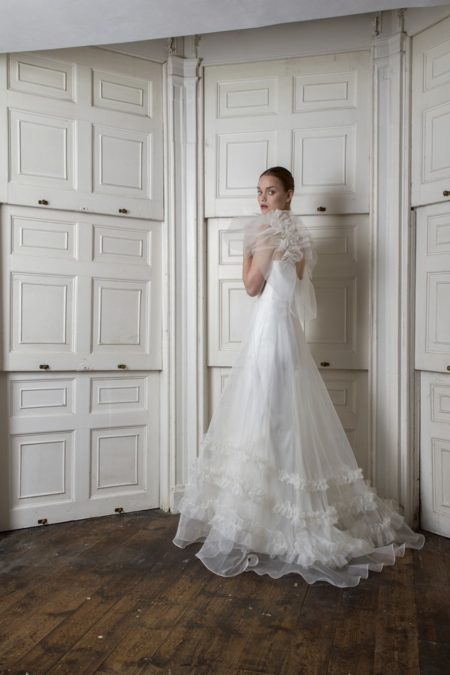 Back of Mayfair Dress from the Halfpenny London The Air That We Breathe 2019 Bridal Collection