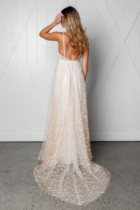 Back of Menha Wedding Dress from the Grace Loves Lace Icon 2018 Bridal Collection