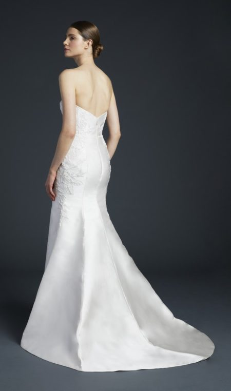 Back of Nash Wedding Dress from the Anne Barge Fall 2019 Bridal Collection