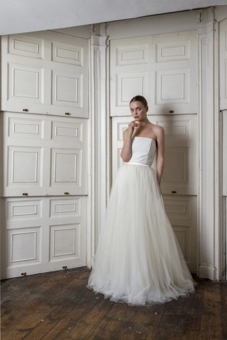 Oliver Dress with Dita Unlined Skirt from the Halfpenny London The Air That We Breathe 2019 Bridal Collection