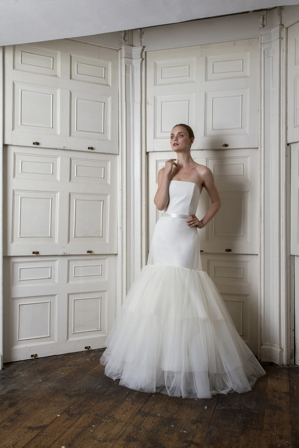 Oliver Dress with Woburn Skirt from the Halfpenny London The Air That We Breathe 2019 Bridal Collection