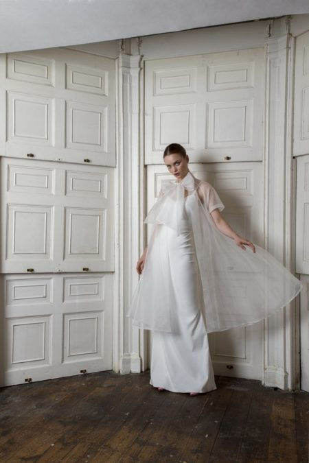 Organza Bow Coat with Victor Dress