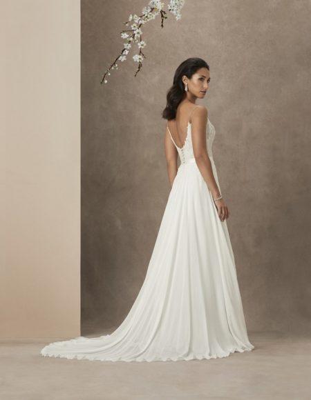 Back of Sakura Wedding Dress from the Caroline Castigliano The Power of Love 2019 Bridal Collection