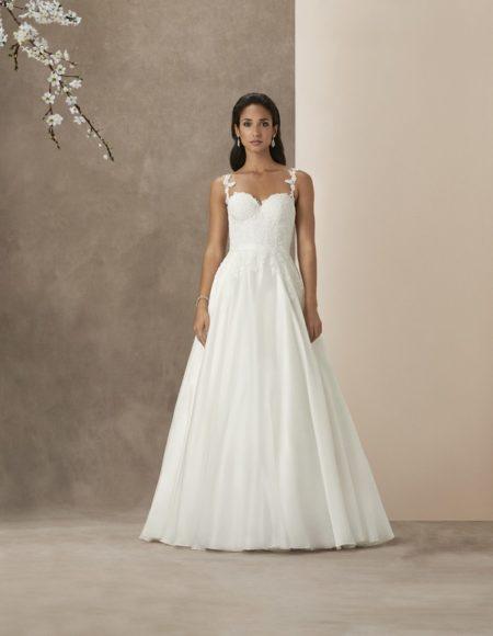 Santa Barbara Wedding Dress from the Caroline Castigliano The Power of Love 2019 Bridal Collection