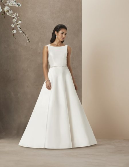 Society Girl Wedding Dress from the Caroline Castigliano The Power of Love 2019 Bridal Collection
