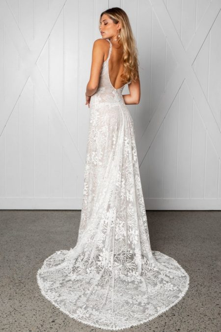 Back of Sol Wedding Dress from the Grace Loves Lace Icon 2018 Bridal Collection