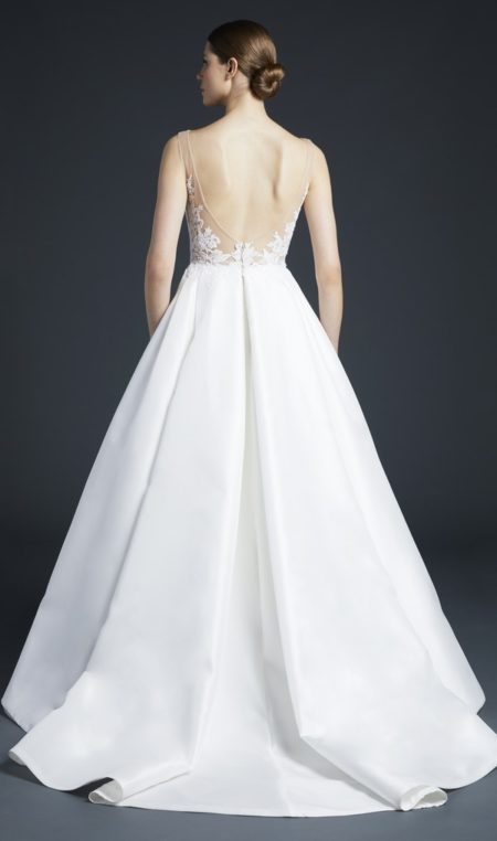 Back of Sullivan Wedding Dress from the Anne Barge Fall 2019 Bridal Collection