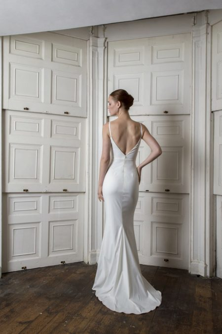 Back of Victor Dress from the Halfpenny London The Air That We Breathe 2019 Bridal Collection