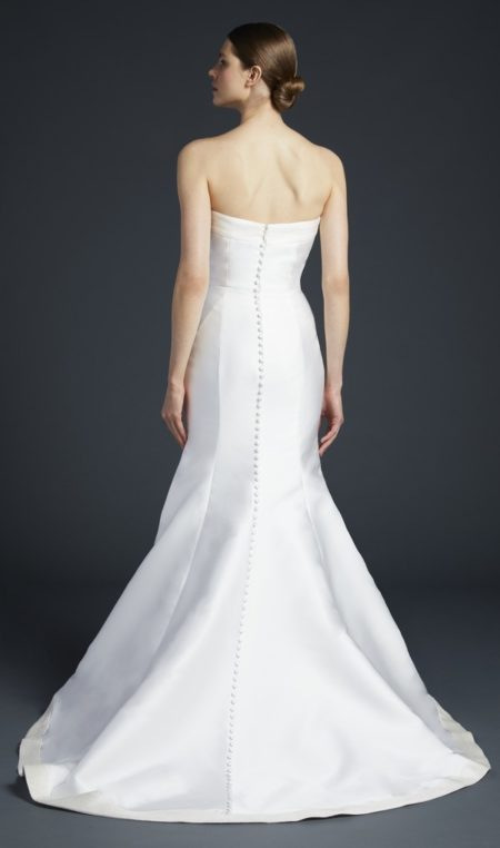 Back of Wren Wedding Dress from the Anne Barge Fall 2019 Bridal Collection