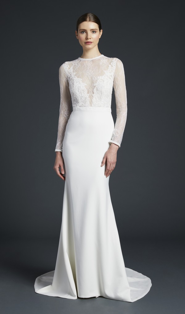 Zaha Wedding Dress from the Anne Barge Fall 2019 Bridal Collection