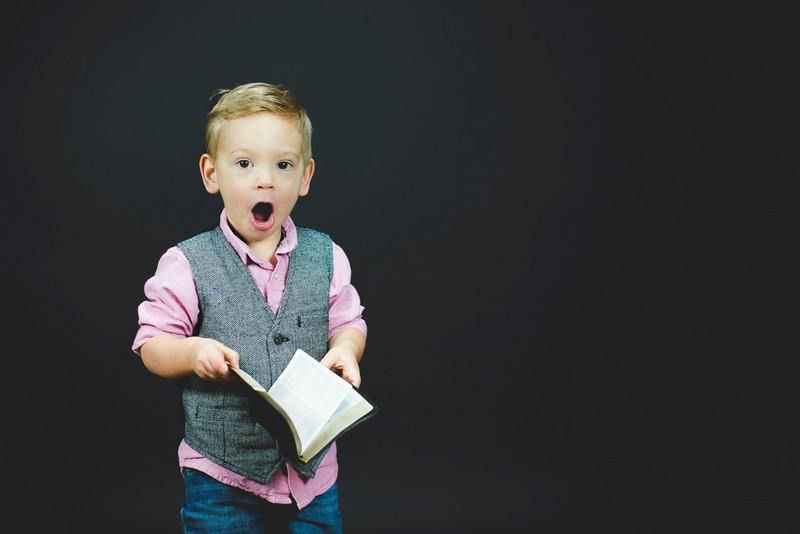 Young Boy Wearing Waistcoat