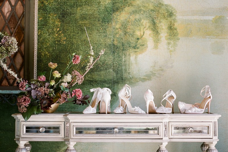 Claire Pettibone for Bella Belle Bridal Shoes Collection