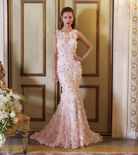 DP394 Juliet Wedding Dress from the Platinum by Demetrios 2019 Bridal Collection