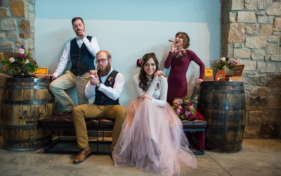 Winter Wedding Styling at Breckenridge Distillery