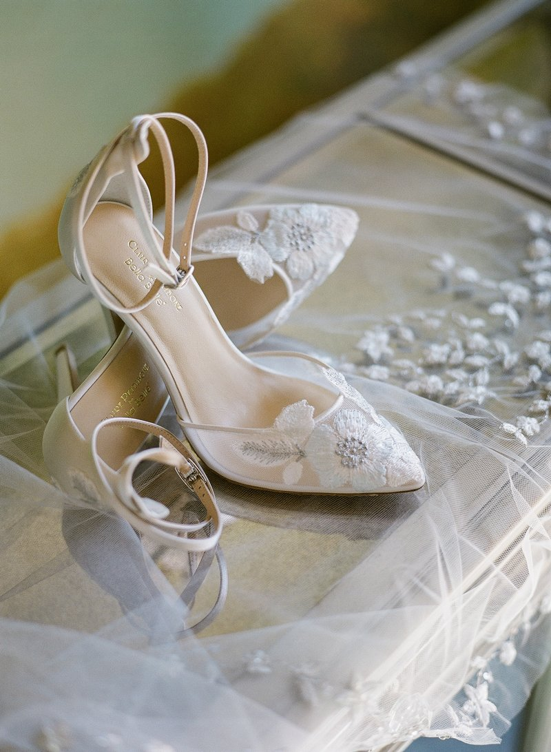 Freya Shoe from the Claire Pettibone for Bella Belle Bridal Shoes