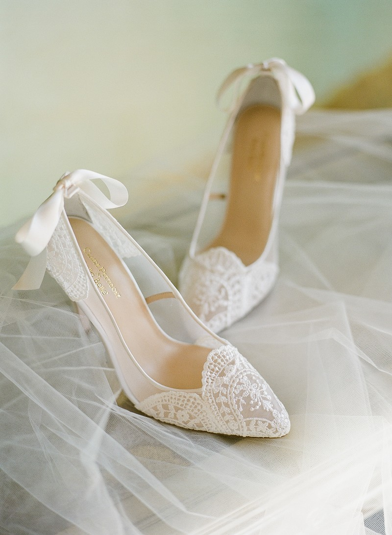 Giselle Shoe from the Claire Pettibone for Bella Belle Bridal Shoes