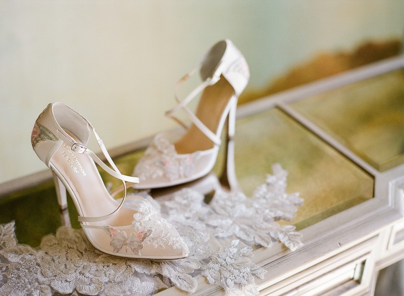 Mariposa Shoe from the Claire Pettibone for Bella Belle Bridal Shoes