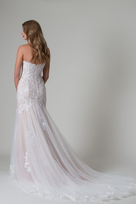 Back of Paulina Wedding Dress from the MiaMia Beautiful You 2019 Bridal Collection