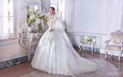 Platinum by Demetrios Clair de Lune 2019 Bridal Collection