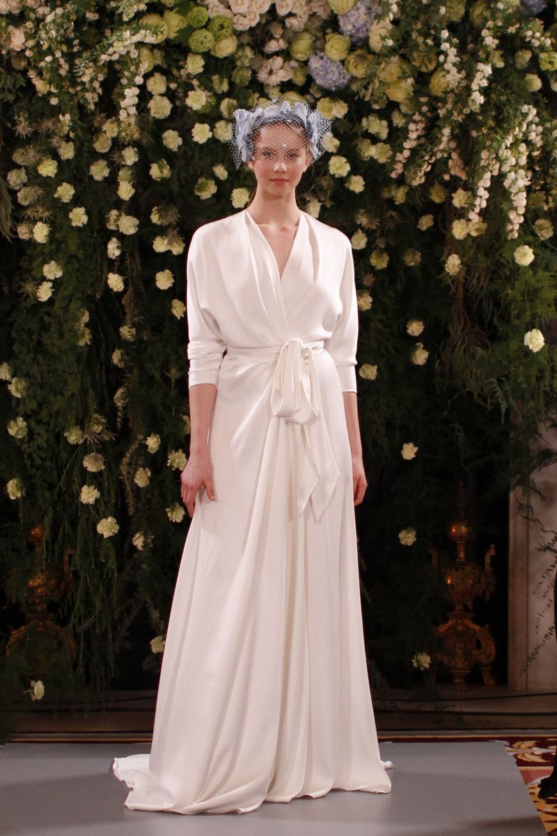 Aster Wrap Wedding Gown from the Jenny Packham 2019 Bridal Collection