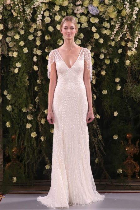 Juniper Wedding Dress from the Jenny Packham 2019 Bridal Collection
