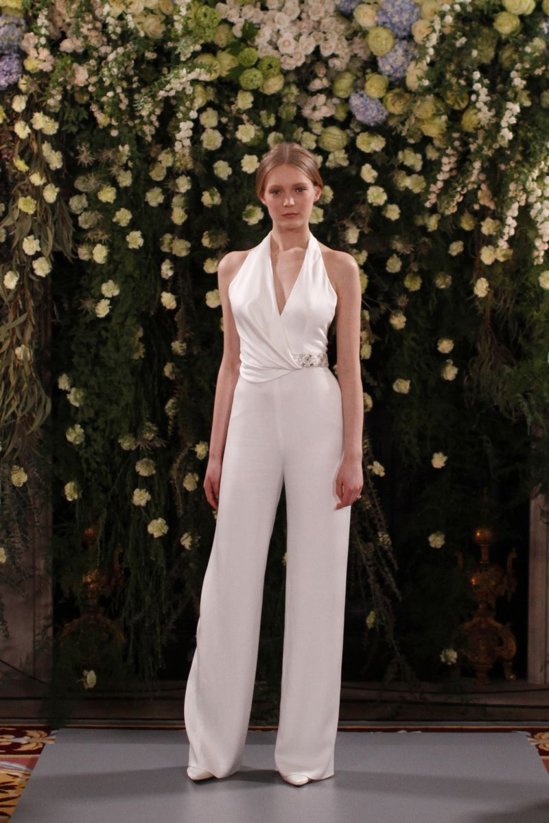 Nadia Bridal Jumpsuit from the Jenny Packham 2019 Bridal Collection