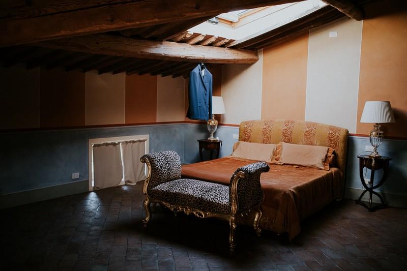 Bedroom at Villa Lenka, Tuscany