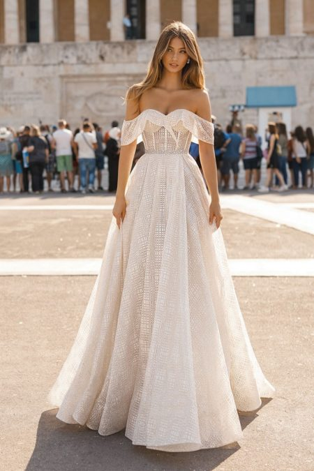 19-102 Wedding Dress from the BERTA Athens F/W 2019 Bridal Collection