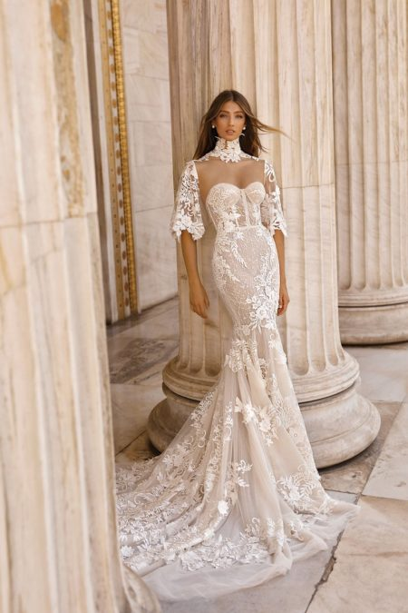19-103 Wedding Dress from the BERTA Athens F/W 2019 Bridal Collection