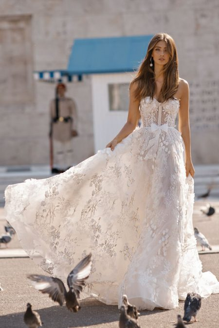 19-104 Wedding Dress from the BERTA Athens F/W 2019 Bridal Collection