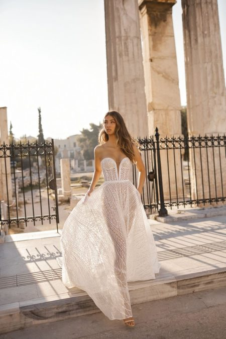 19-106 Wedding Dress from the BERTA Athens F/W 2019 Bridal Collection