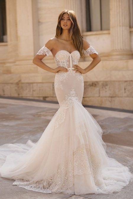19-107 Wedding Dress from the BERTA Athens F/W 2019 Bridal Collection