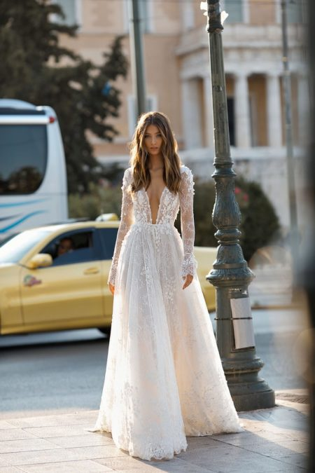 19-108 Wedding Dress from the BERTA Athens F/W 2019 Bridal Collection
