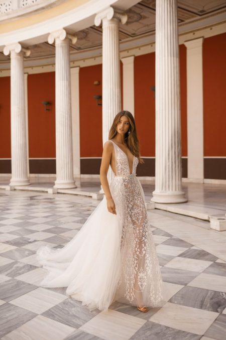 19-109 Wedding Dress from the BERTA Athens F/W 2019 Bridal Collection