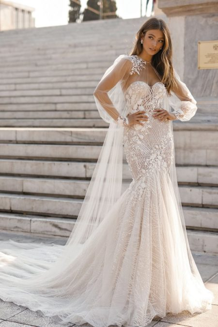 19-110 Wedding Dress from the BERTA Athens F/W 2019 Bridal Collection
