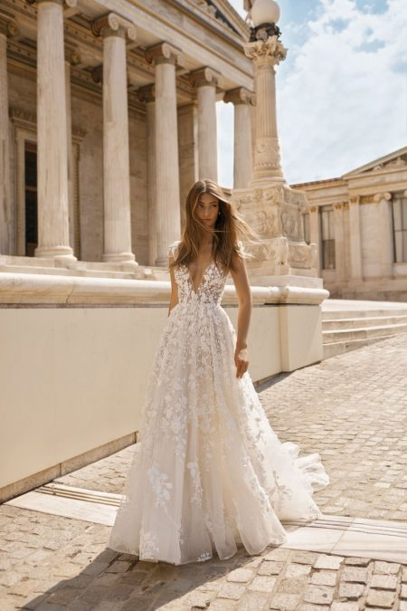 19-112 Wedding Dress from the BERTA Athens F/W 2019 Bridal Collection