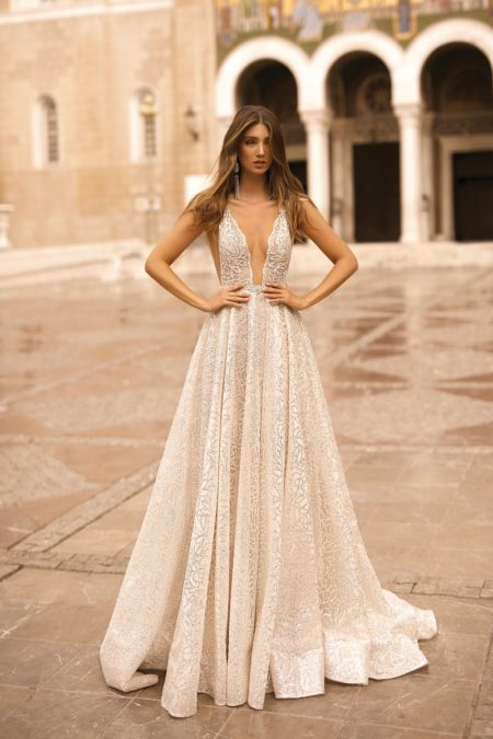 19-113 Wedding Dress from the BERTA Athens F/W 2019 Bridal Collection
