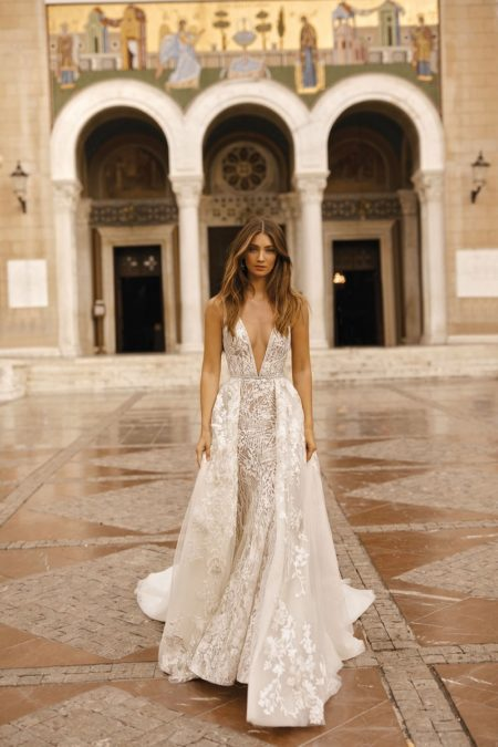 19-115 Wedding Dress from the BERTA Athens F/W 2019 Bridal Collection