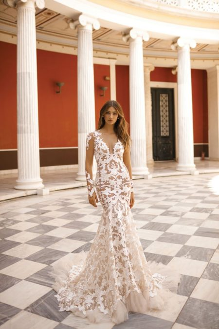 19-116 Wedding Dress from the BERTA Athens F/W 2019 Bridal Collection