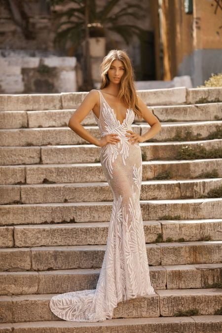 19-119 Wedding Dress from the BERTA Athens F/W 2019 Bridal Collection