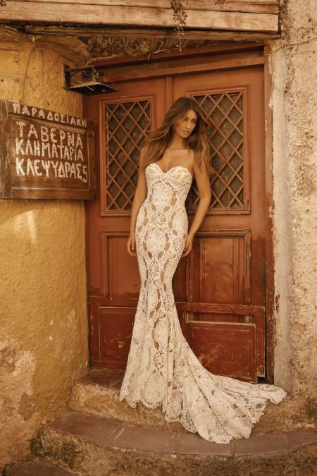 19-120 Wedding Dress from the BERTA Athens F/W 2019 Bridal Collection