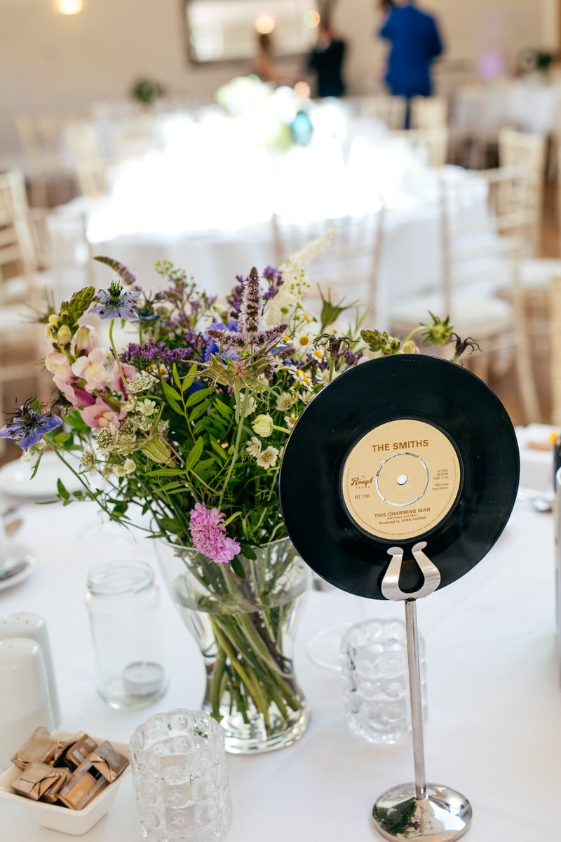 Record on wedding table as table name