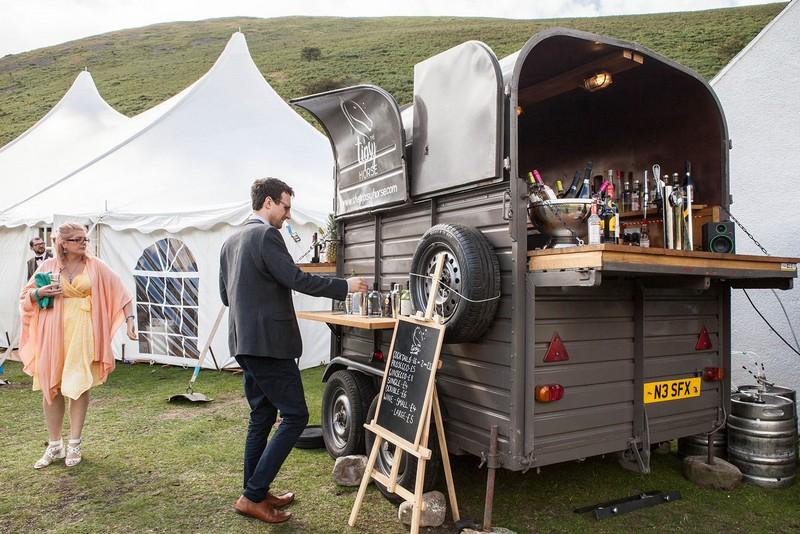 The Tipsy Horse Bar at wedding
