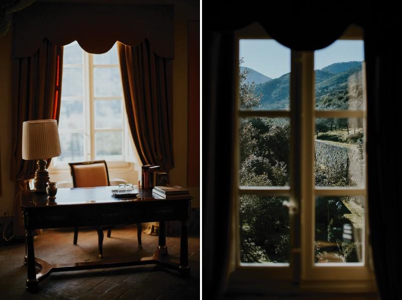 Study at Villa Lenka, Tuscany