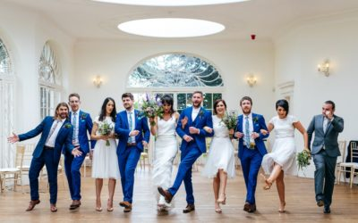 A Fun Barton Hall Wedding with Modern Twists