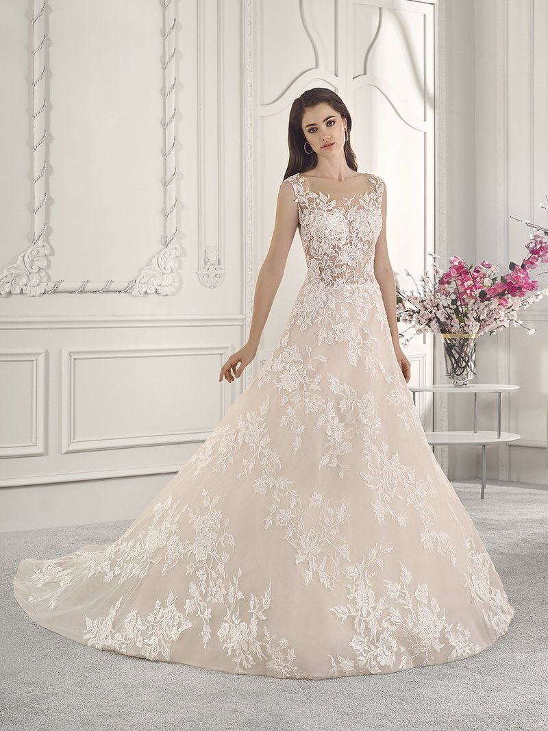 815 Wedding Dress from the Demetrios Starlight 2019 Bridal Collection